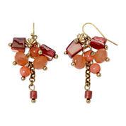 Aris by Treska Small Shell Cluster Earrings