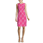 Alyx Diamond Print Sheath Dress