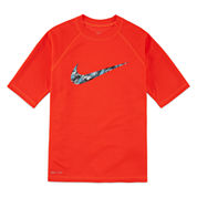 Nike® Dri-FIT Swoosh Rash Guard - Boys 8-20
