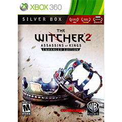 Witcher 2 Assassin Silver Video Game-XBox 360