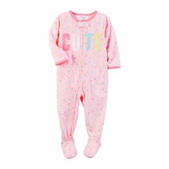 Carter's One Piece Pajama-Toddler Girls