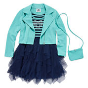 Knit Works Girls Jacket Dress