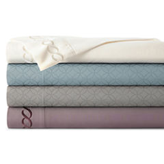JCPenney Home™  Premium Embossed or Embroidered Microfiber Sheet Sets