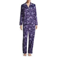 Earth Angels Microfleece Long Sleeve Pant Pajama Set