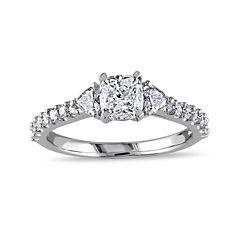 1 1/4 CT. T.W.  Diamond 14K White Gold Ring