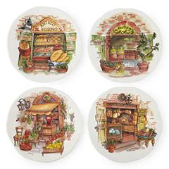 JCPenney Home™ Italian Market Set of 4 Dinner Plates