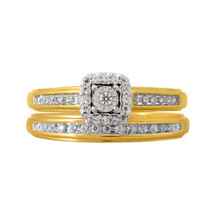 tw diamond bridal ring set - Jcpenney Wedding Ring Sets