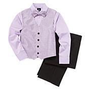 Steve Harvey® 4-pc. Vest Set - Preschool Boys 4-7