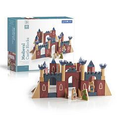 Guidecraft Medieval Castle Building Blocks 61-pc. Set