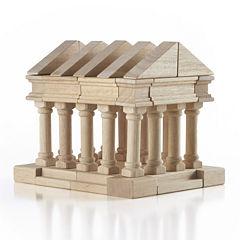 Guidecraft Greek 40-pc. Wooden Building Block Toy Set
