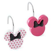 Disney Minnie Mouse Shower Curtain Hooks