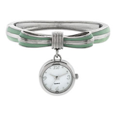 Womens Bow Bangle Watch