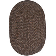 Colonial Mills® Grafton Tweed Reversible Braided Oval Rug