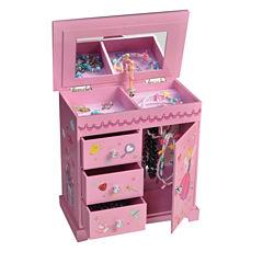 Mele & Co. Krista Girl's Musical Ballerina Jewelry Box