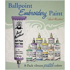 Aunt Martha's Ballpoint Paint Tubes-Pastel Colors