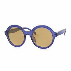 City Streets Full Frame Round UV Protection Sunglasses-Womens