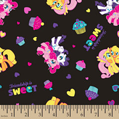 My Little Pony Friendship Cotton Fabric