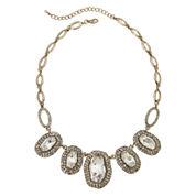 Natasha Antique-Style Stone Statement Necklace