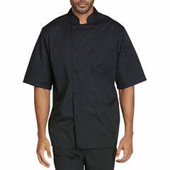 Dickies Unisex Short Sleeve Chef Coat Big