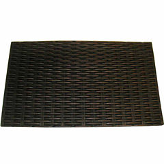 Bronze Rubber Rectangle Doormat - 18