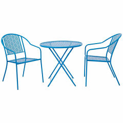 Copperfield 3pc. Folding Table and Chairs