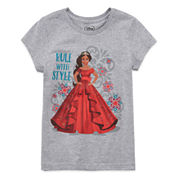 Disney Girls Graphic T-Shirt-Big Kid