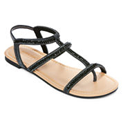 Mixit™ Strappy Bling Slide Strap Sandal
