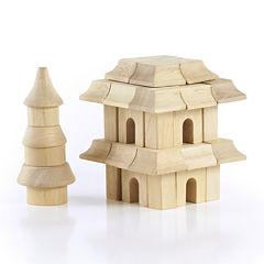 Guidecraft 42-pc. Oriental Block Learning Toy Set