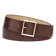 Mixit™ Square-Buckle Brown Belt