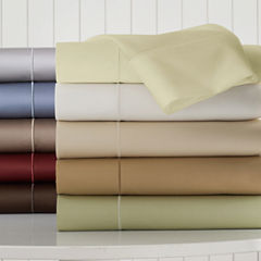 Royal Velvet® 400tc WrinkleGuard™ Set of 2 Pillowcases