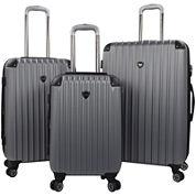 Travelers Club® Chicago 2.0 3-pc. Hardside Expandable Double-Spinner Upright Luggage Set