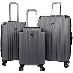 Travelers Club® Chicago 2.0 3-pc. Hardside Expandable Double-Spinner Upright Luggage Set