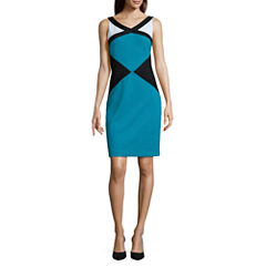 Nicole By Nicole Miller Sleeveless Sheath Dress