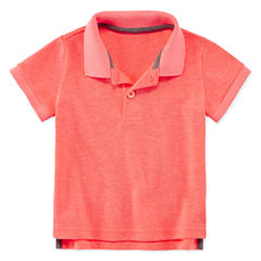 Arizona Short Sleeve Solid Polo Shirt - Baby Boys