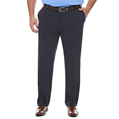 Van Heusen Flex Flat Front Pants-Big and Tall