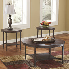 Signature Design by Ashley ® Sandling Occasional Table Set Coffee Table Set