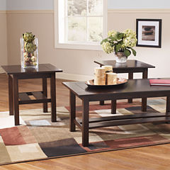 Signature Design by Ashley ® Lewis Occasional Table Set