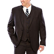 JF J.Ferrar® Black Nailhead Suit Jacket - Big & Tall