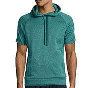Xersion™ Short-Sleeve Training Fleece Pullover Hoodie