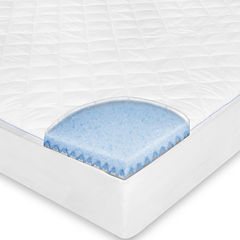 SensorPEDIC® MemoryLOFT® Repel-A-Tex® Memory Foam Euro-Top Mattress Pad