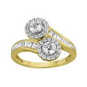 Two Forever™ 1 CT. T.W. Diamond 10K Yellow Gold Ring