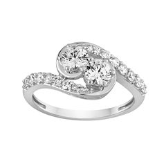 tw diamond 14k white gold ring - Jcpenney Jewelry Wedding Rings