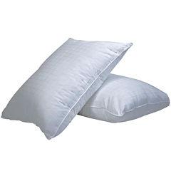 DownLinens Plush Perfect Down-Alternative Medium 2-Pack Pillows
