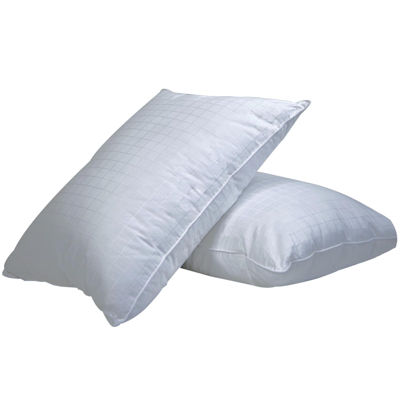 downlinens plush perfect overstuffed firm 2pack pillows