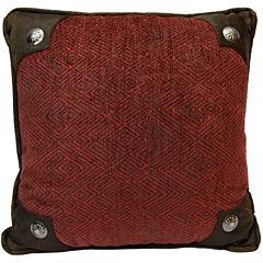 HiEnd Accents Wilderness Ridge Square Decorative Pillow