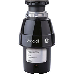 GE® 1/2 HP Continuous-Feed Garbage Disposer - Non-Corded