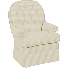 Best Chairs, Inc.® Button Back Club Swivel Glider