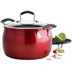 Epicurious® 8-qt. Aluminum Nonstick Stock Pot with Meat Rack