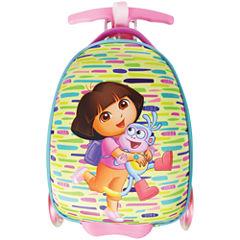 Nickelodeon Dora Scootie Friends Dora the Explorer Hardside Luggage