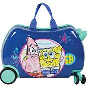 Sponge Bob Cruizer Friends Spongebob Hardside Carry-On Luggage